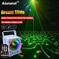 Atotalof RGB Bühne Licht 60 Muster Laser Projektor Sound Aktiviert Disco Ball Party Beleuchtung Wirkung für Weihnachten KTV Hochzeit