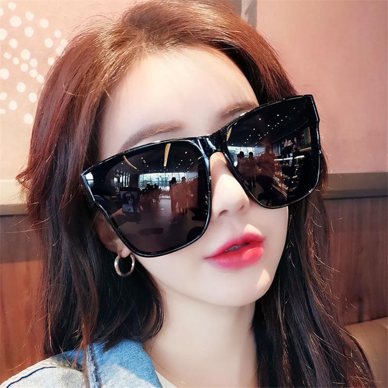Vazrobe (168mm) Polarized Sunglasses Oversized Women Men Sun Glasses for Woman Fashion Black Wide Face Anti Reflection UV400Womens Sunglasses   -