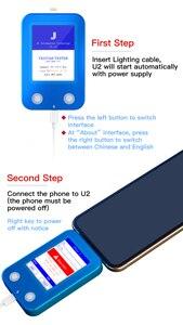 Image 5 - Jc U2 Chip Tristar Tester U2 Lading Fault Snelle Detector Voor Iphone 5 11Pro Max Auto Test U2 Status Seriële nummer Detector Reader