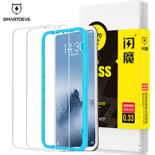 SmartDevil screen protector For Meizu 16th Plus tempered glass protector film For Meizu16xs 16S pro mobile phone toughened film