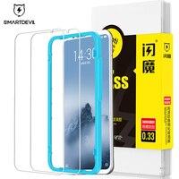 Smartdevil película protetora de tela  protetor de tela para meizu 16th plus  película de vidro temperado para celular meizu16xs 16s pro