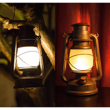 New LED Vintage Portable Lamp RC European Retro Remote Control Flame Light Cafe Outdoor Lighting Home Decoration Lamp Camping cheap NoEnName_Null Atmosphere Holiday lights Night Lights LED Bulbs Switch Dry Battery ROHS Indoor lighting outdoor lighting