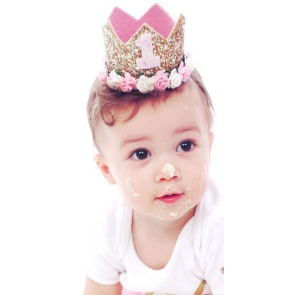 Baby-Girl-Birthday-Party-Hats-Kids-1-2-3-Years-Birthday-Princess-Crown-Number-Baby-Cap