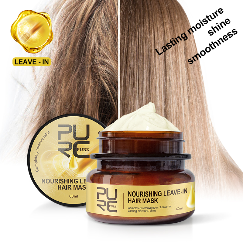 PURC Nourishing Leave-In Hair Mask Completely remove odor Lasting moisture shine Hair Treatment 11.11 2