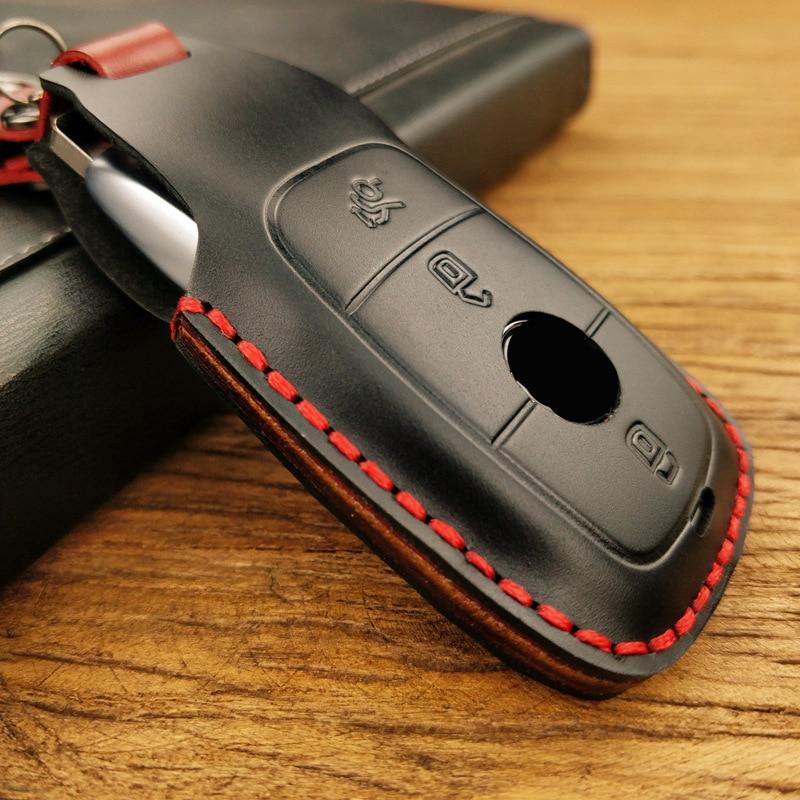lowest price Car Carbon Fiber Key Case Holder Cover For Hyundai Santafe IX45 Smart Key Cover Accessories 3 4 Buton Fob Smart Key Protect