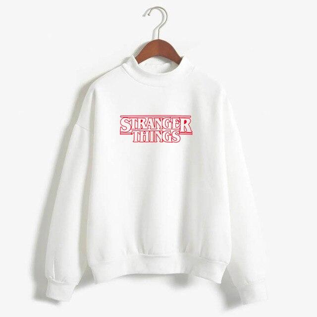Stranger Things Official Television Series Men's Solid Logo Sweatshirt  Unisex STRANGER THINGS Hoodie - Stranger Things 1