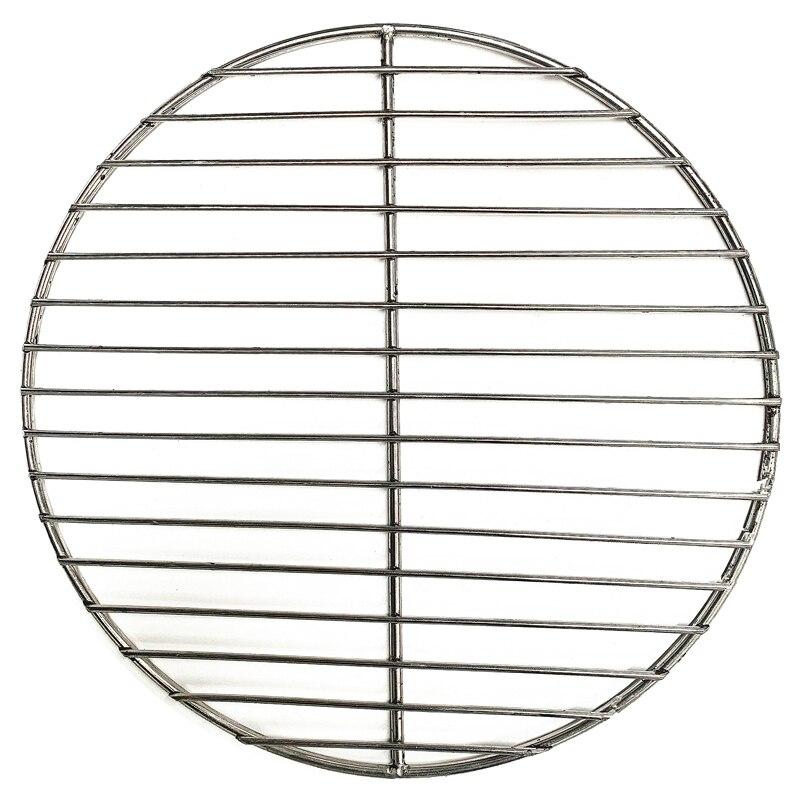 Антипригарный коврик для барбекю, сетка из нержавеющей стали 304, круглая сетка для барбекю-гриля, домашние жаропрочные сетки, инструмент для...