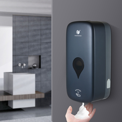 CHUANGDIAN Automatic Soap Dispenser Spray Liquid Foam Dispenser Wall Mounted Machine Touchless Infrared Hand Saniziter 1000ml