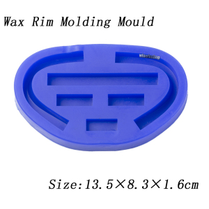 Image 3 - Dental silicone rubber wax rim slim long shape bite block individual tray implant molding mould