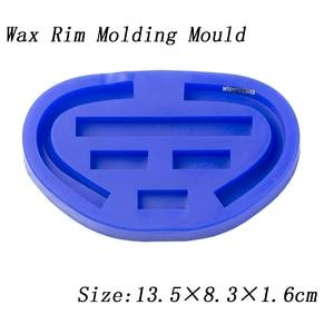 Image 3 - Dental silicone rubber wax rim slim long shape bite block individual tray implant molding mould