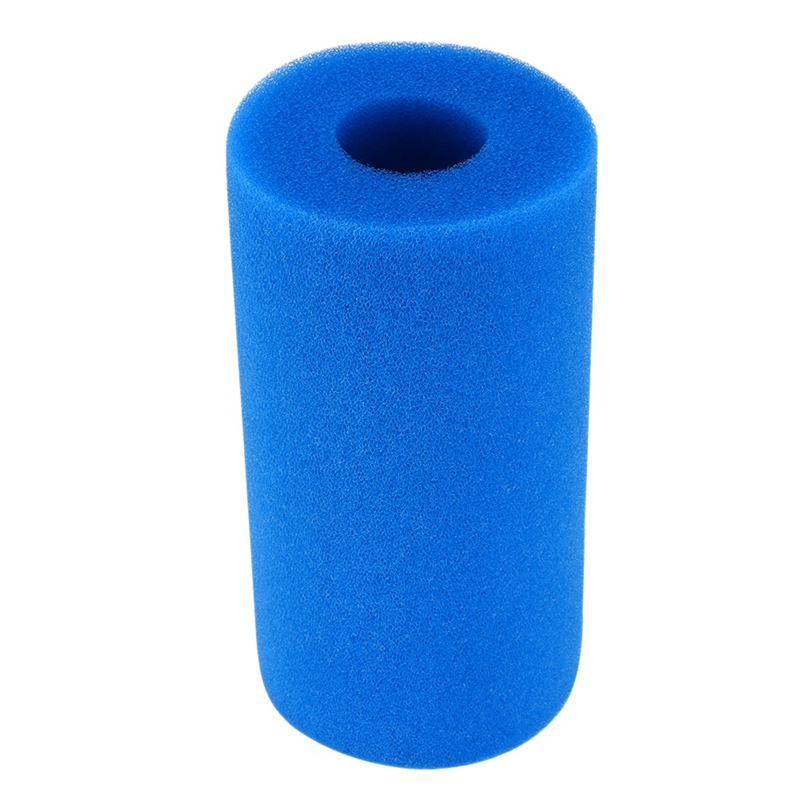 Foam Filter Sponge Reusable Biofoam Cleaner Water Cartridge Sponges for Intex Type a Re-Used Cleaning Swimming Pool Accessories
