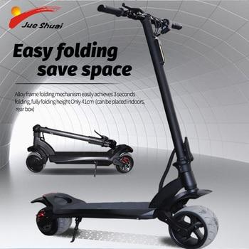 36V, 500W/1000W, Scooter Eléctrico, aeropatín eléctrico plegable, Scooter para adulto, 50KM, patinete eléctrico adulto de doble Motor