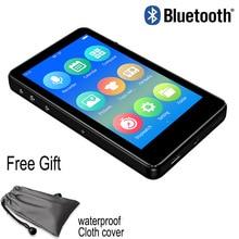 Reproductor mp4 Bluetooth 5,0, pantalla completamente táctil de 3,0 pulgadas, con altavoz incorporado e book, radio FM, grabadora de voz, reproducción de vídeo