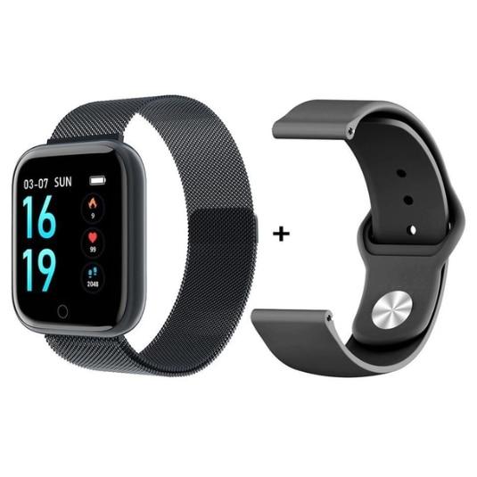 T80 Smart Watch IP67 Waterproof Heart Rate Blood Oxygen Monitoring Smartwatch Outdoor Sport Bluetooth Fitness Bracelet Men Watch
