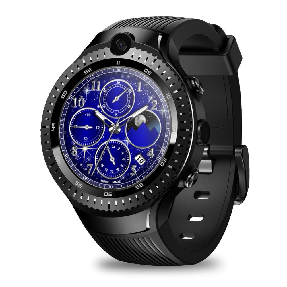 Spor ve Eğlence'ten Dış Mekan Aletleri'de Yeni Zeblaze THOR 4 çift 4G SmartWatch çift kamera Android izle ekran GPS/GLONASS 16GB akıllı saat erkekler 40DC27 title=