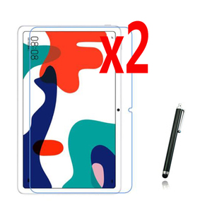 2x мягкая Ультрапрозрачная защита экрана + стилус для Huawei Matepad 10,4 BAH3-W09 BAH3-AL00 10,4