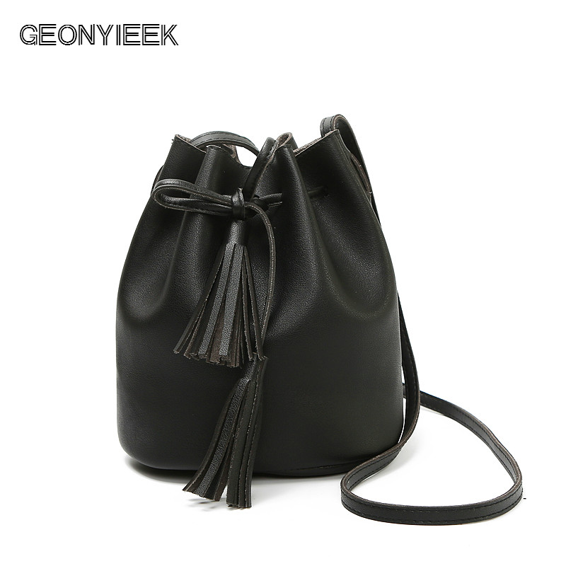 Women Bag Hot Selling Bucket Bag Women PU Leather Shoulder Bags Brand Designer Ladies Crossbody Messenger Bags