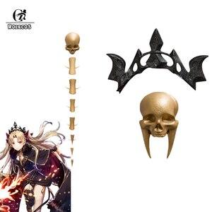 Игра FGO Fate Grand Order Косплей Ereshkigal Lancer Rin Tohsaka, колье, подвеска, брошь, тиара, Circlet, 3 шт. в комплекте