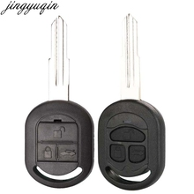 Jingyuqin чехол для дистанционного ключа от машины Shell для Buick 2003-2005 Excelle HRV Chevrolet Lacetti Fob Uncut Blade 2 BTNS авто заготовки