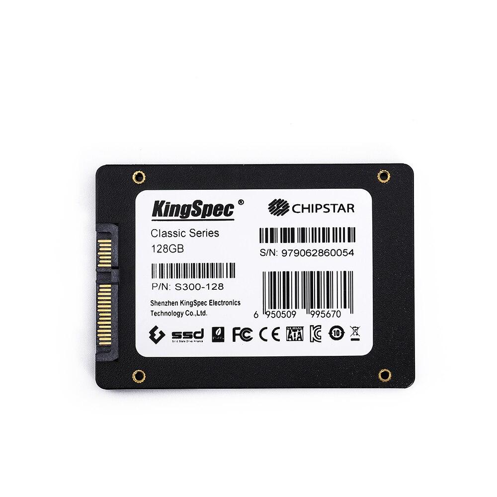 KingSpec 2,5 дюймов SATA3 SSD S300 серии 128 ГБ 256 Гб жесткий диск 512 ГБ 1 ТБ 2 ТБ sata 2,5 hd Диск Внутренний жесткий диск для настольных ПК