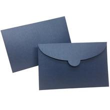 50 unidades/lote de sobres de papel de perlas Vintage, sobre Kraft de 7 colores para boda, sobre de invitación, sobre de regalo