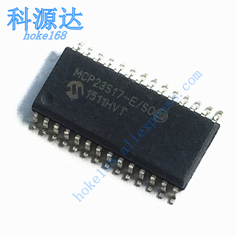 5pcs/lot MCP23S17-E/SO SOIC28 In Stock