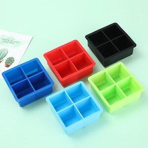 4 сетки силиконовая форма для льда держатель для хранения мороженого совок для мороженого лоток для мороженого конфетная форма кухонная те...