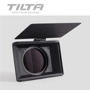 Image 4 - Stokta Tiltaing tilta Mini mat kutu DSLR aynasız tarzı kameralar Tilta lens hood aksesuarları