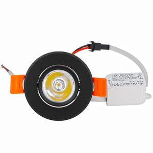 Image 5 - 10pcs Round Adjustable LED Dimmable Downlight Super Bright Recessed 3W LED Spot light LED decoration Ceiling Lamp AC110V 220V