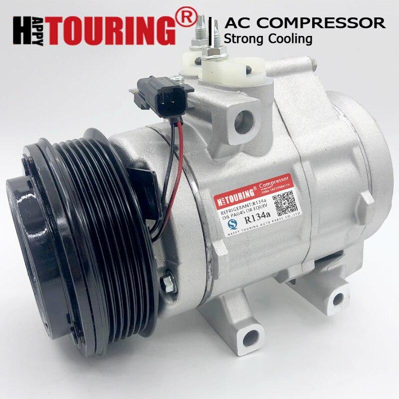 New A//C Compressor CO 58114C E7TZ19V703BARM F-150 Ranger F-250 Bronco II F-350