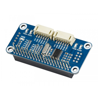 Serial Expansion HAT for Raspberry Pi  I2C Interface  Provides 2-ch UART and 8 GPIOs .