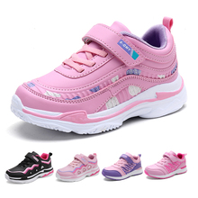 Kids Sport Shoes Waterproof Running Shoes Girls Sneakers Tenis Infantil Pink Breathable Antislip Children Shoes Chaussure Enfant