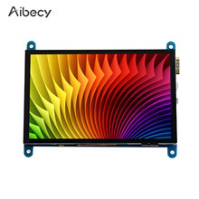 Aibecy 5 Zoll HD Kapazitiven Touchscreen Display 800*480 Auflösung Kleine Tragbare Monitor mit USB HD Interface