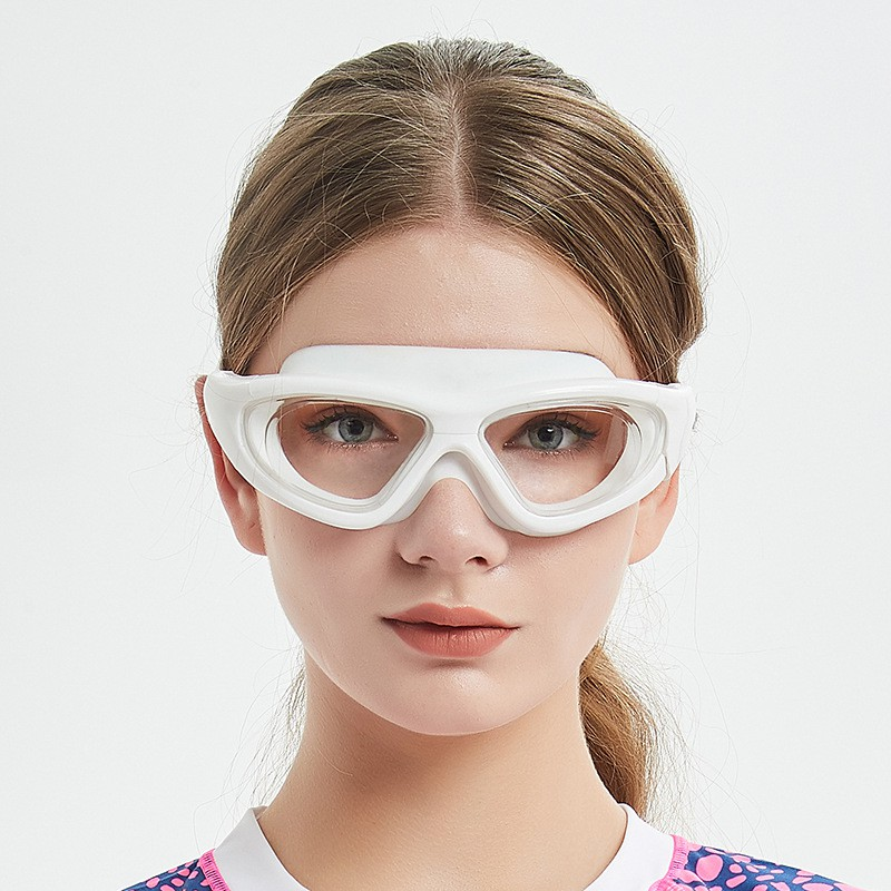 Women Men Sports Professional Anti Fog UV Protection Diver Swimming Goggles Coating Waterproof Adjustable Swim Glasses