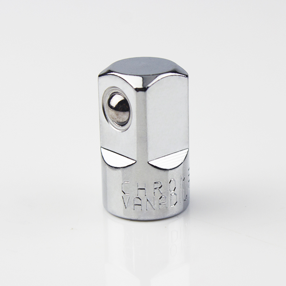 "CR-V Steel Socket Ratchet Converter Adapter Reducer 1/4"" To 1/2"" Car Bicycle Garage Repair Tools Small Socket Tools"