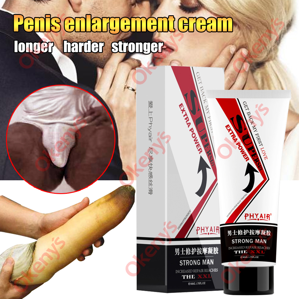 Penis Enlargement Cream Aphrodisiac Pills Erection Gel Herbal Bigger Dick Growth Extension Thicker Increase XXL Massage Products