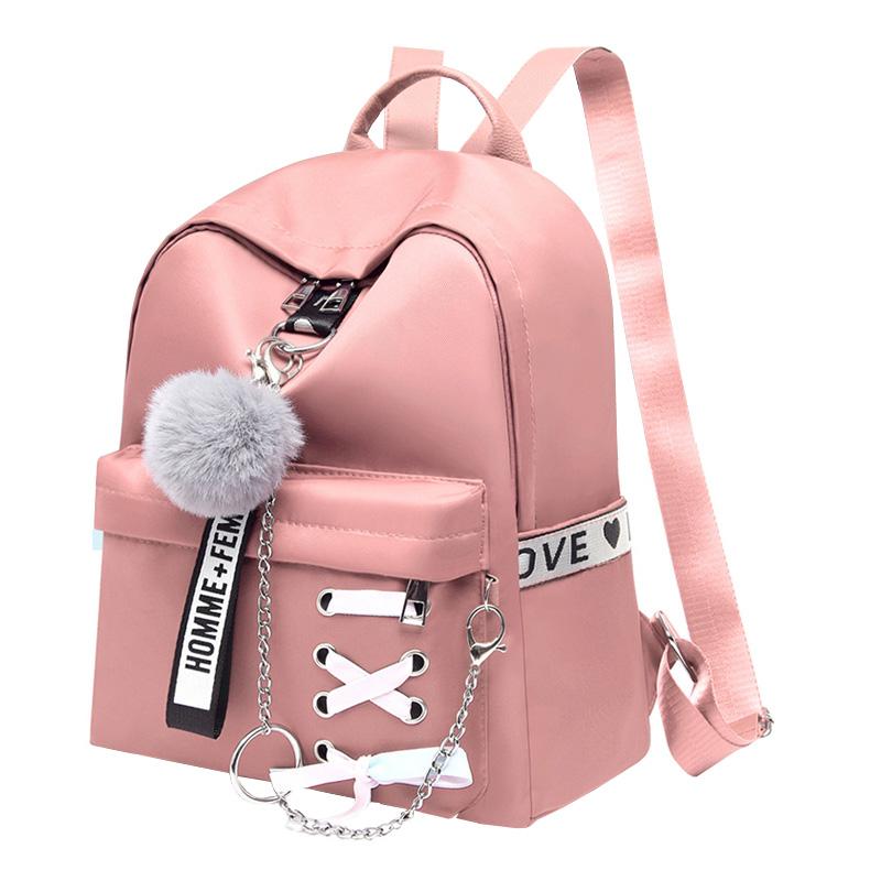 Oxford Women Backpacks Waterproof Female Shoulder Backpack Fashion Teenage Girls School Bags Retro School Backpack Girl Book Bag