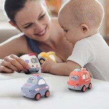 Newborns Car Doll Toy Crib Mobile Bell Rings Grip Gutta Hand Catching Balls Handbell for Kids 0-12 Months  Engineering vehicle