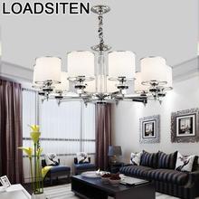 Hanglamp Industrieel Crystal Hanglampen Suspension Luminaire Lampara Colgante Lustre E Pendente Para Sala De Jantar Hanging Lamp