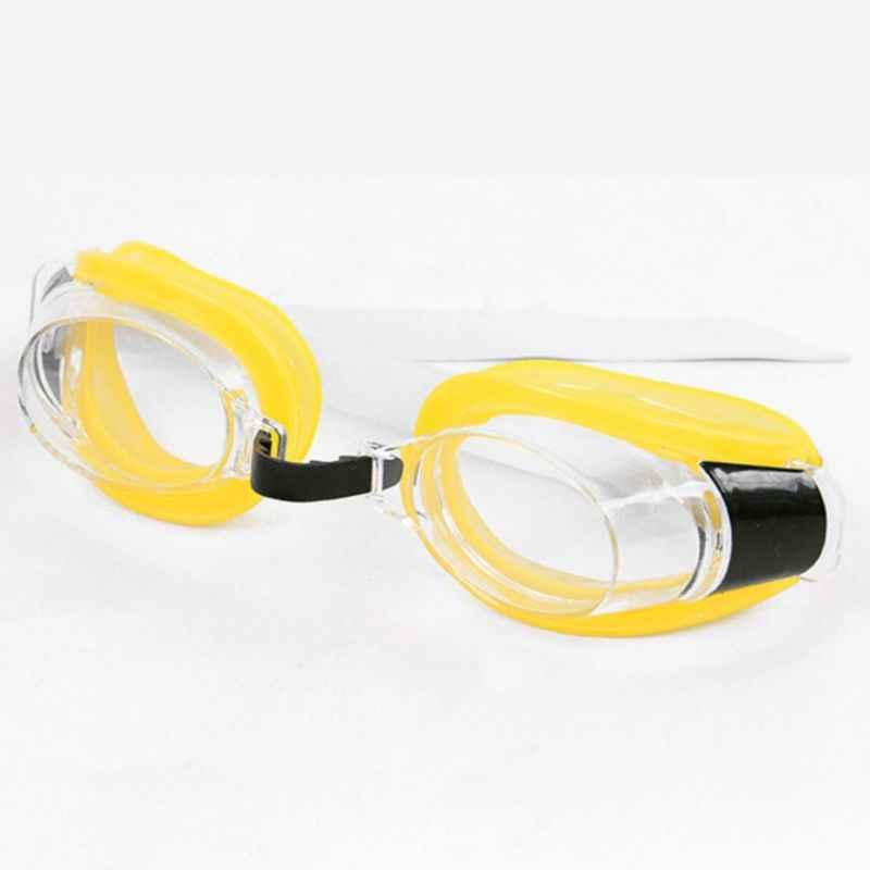 Donne Uomini di Età Impermeabile Anti Fog Occhialini da Nuoto Set Uv di Protezione di Vista Largo Regolabile Occhiali con Naso Clip di Spina di Orecchio pxpf