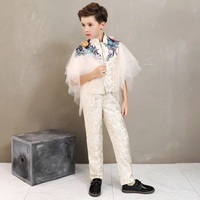 boy costume enfant garcon mariage kids wedding suit blazer boys suits for weddings boys tuxedo 2pcs set