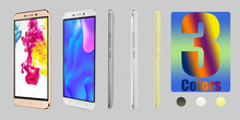 A50 smartphones 4g lte octa core 2gb ram 16gb rom 5.5 polegada telefones celulares 13mp desbloqueado android barato celulares 4000mah 2sim ips