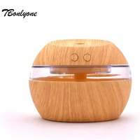 TBonlyone Home Air Humidifier WaterSoluble Oil Aroma LED light Diffuser USB Electric Ultrasonic car humidifier Fogger Office