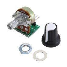 10 кОм потенциометр модуль резистор модуль 3 контакт линейный конус поворотный потенциометр модуль для Arduino с крышкой