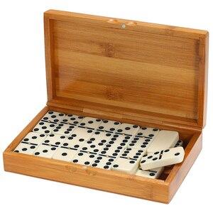 Set de 28 juegos de mesa de dominó para niño, divertido juego de mesa de viaje, juguetes educativos para niño, regalos