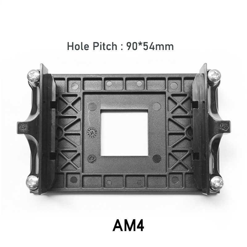 Cooler Am4 Cpu Shelf Heatsink Bracket Supports Amd B350 X370 A320 X470 Motherboard Base Plate Amd Socket Am4 Aliexpress
