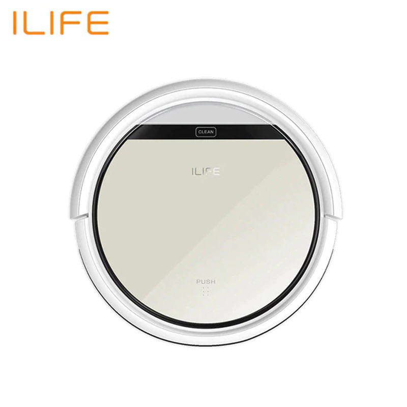 Robot Vacuum Cleaner ILIFE V50 Wireless Vacuum Cleaner Dry Cleaning For Home Automatic Suction household appliances wireless цена в Москве и Питере