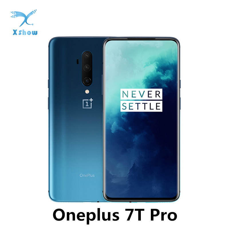 OnePlus 7T Pro Global ROM Cellphones Snapdragon 855 Plus 6.67'' Fluid AMOLED 90Hz Refresh Rate Screen 48MP Triple Cam 4085mAh|Cellphones| - AliExpress