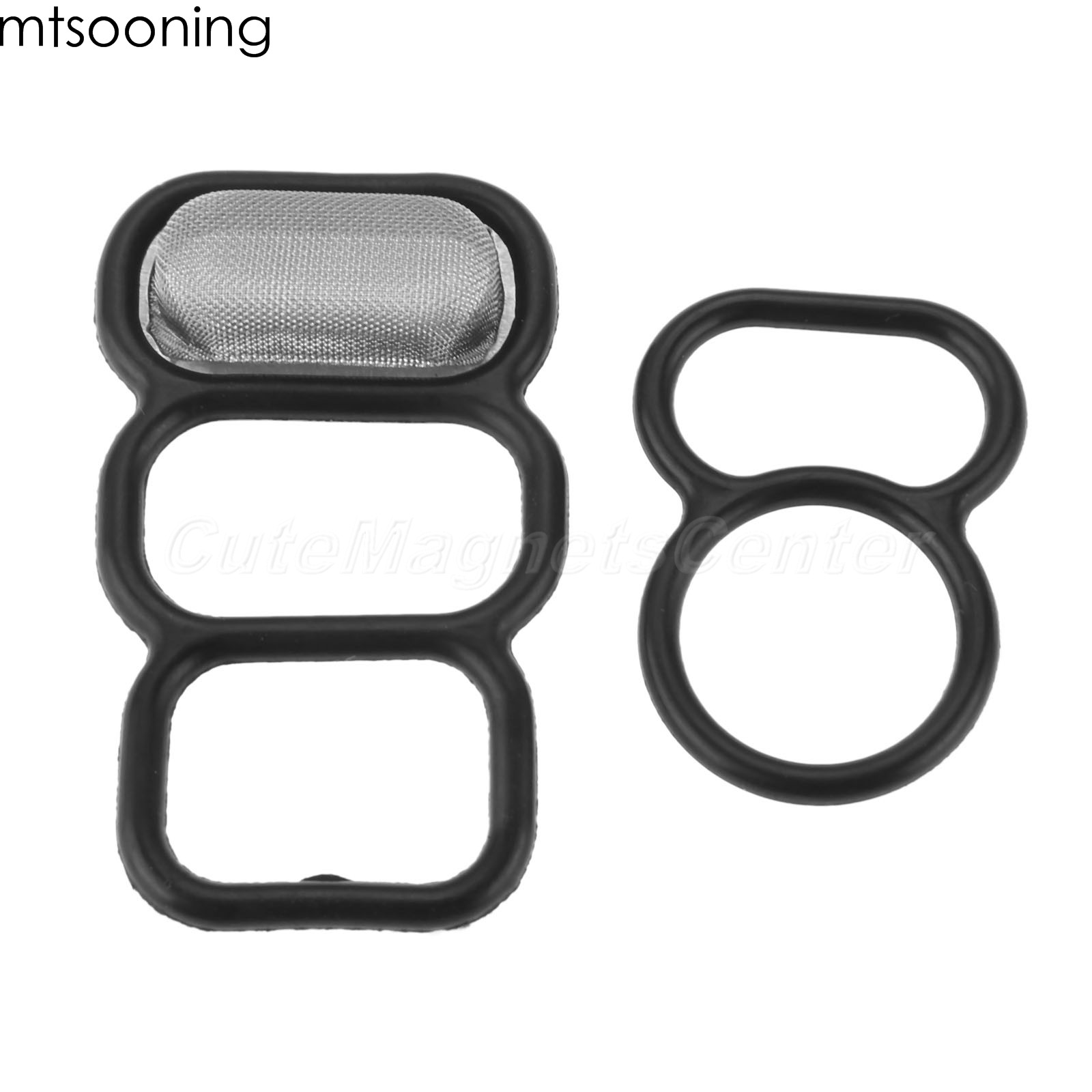 Mtsooning 2pcs Spool Valve VTEC Solenoid Gasket Kit For Honda 4 Cylinder Accord Odyssey Acura CL