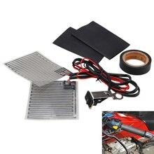 Universal climatizada apretones de manillar de la motocicleta 12V eléctrico inserto de calefacción con Kit de reparación mano conjunto accesorios de la motocicleta